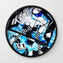BUNNYGIRL UNDER GROUND Wall Clock