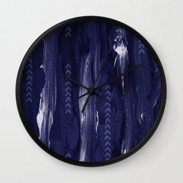 LYRIC | navy Wall Clock