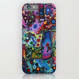 """Blue Candy Gloom"" iPhone Case"