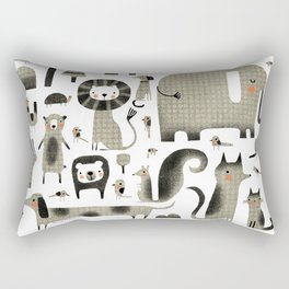 ANIMAL ASSORTMENT Rectangular Pillow