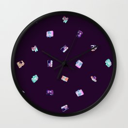 Vintage Cameras in the Darkroom (Fine) Wall Clock