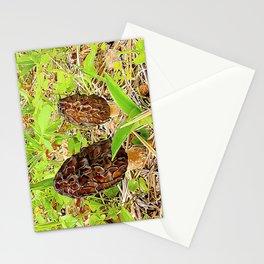 Morchella surrealis Stationery Cards