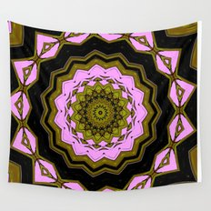 Mandala in Glorious Color Wall Tapestry