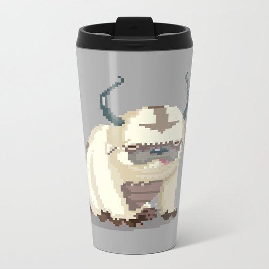 Pixel Avatar Metal Travel Mug