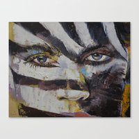 carnival Canvas Prints featuring Carnival by Michael Creese