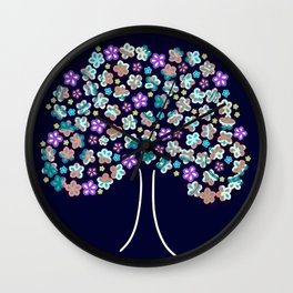Full Bloom Wall Clock