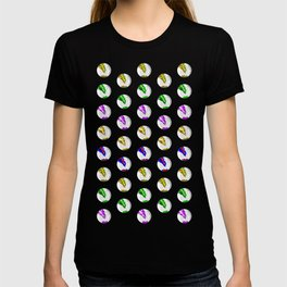 Marbles on Wood Pattern T-shirt