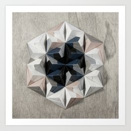 Origami Oh-Three-Oh Art Print