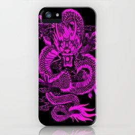 Epic Dragon Purple iPhone Case