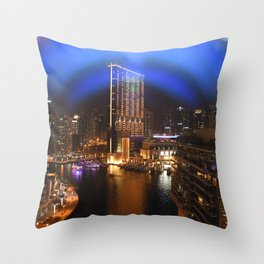JBR in Dubai Throw Pillow