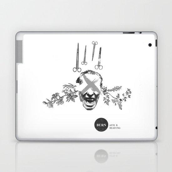 Burn After Reading | Collage Laptop & iPad Skin