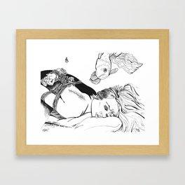 Kinbaku Shibari Framed Art Print