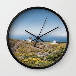 Roque de los Muchachos Astronomical Observatory. La Palma, Canary Islands. Wall Clock