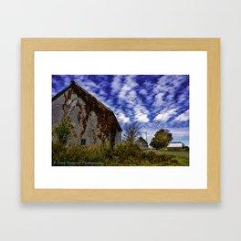 Barn Country Framed Art Print