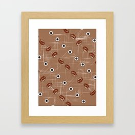Coffee and Beans. Framed Art Print