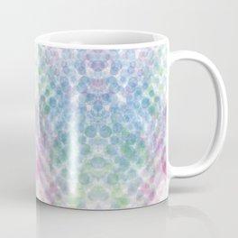 blue green red dots Coffee Mug