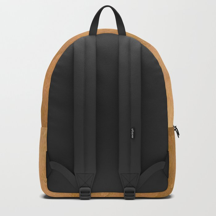 Brushed Copper Metallic - Beautiful - Rustic Glam - Fancy Faux Finishes - Unique Backpack