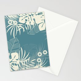 Tropical pattern 047 Stationery Cards