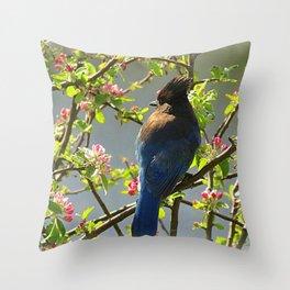 Steller Blooms Throw Pillow