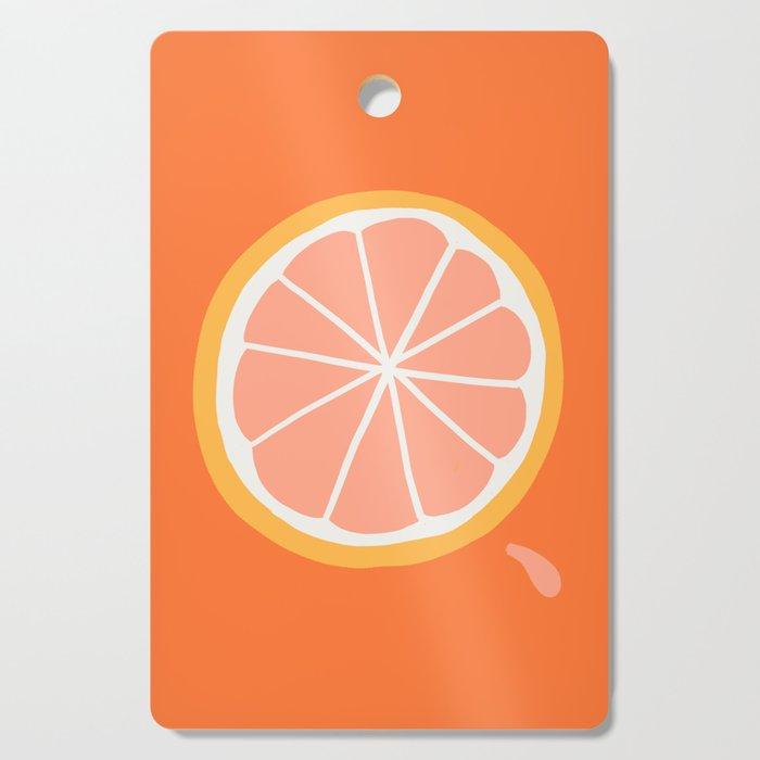Grapefruit Slice Cutting Board