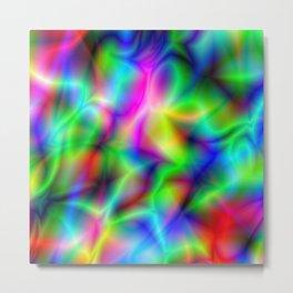 Rainbow Vibs Metal Print