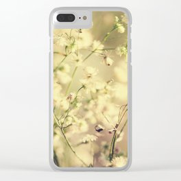 Countryside nature Clear iPhone Case