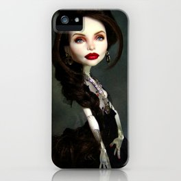 Monster Angelina Doll iPhone Case