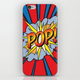 POP Art Exclamation iPhone Skin