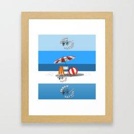 Summer - Viva la Vida Framed Art Print