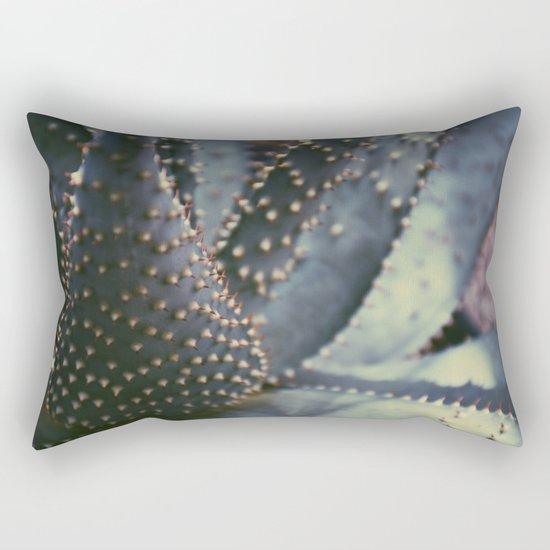 Prickly Succulent Rectangular Pillow