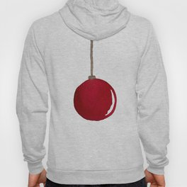 Red Ornament Hoody