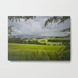 Aberdeenshire Landscape Metal Print