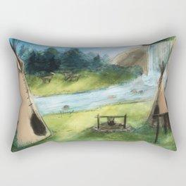 The Camp Rectangular Pillow