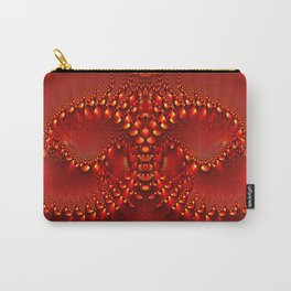 Red Copper Gem Horns Carry-All Pouch