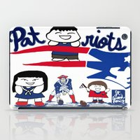 patriots iPad Cases featuring Team Patriots!  by Happy Positivity
