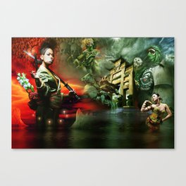HVH Mob Canvas Print