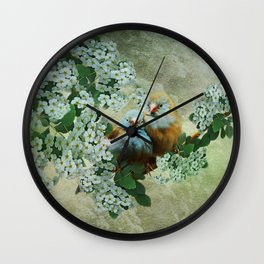 Cordon Bleu Love Wall Clock