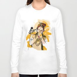 Kumbh Mela India Sadhu Long Sleeve T-shirt