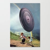 kids Canvas Prints featuring kids by Hugo Barros
