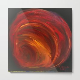 """""""Mainly Red"""" Metal Print"""