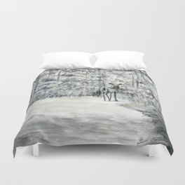 Follow Me by Teresa Thompson Duvet Cover