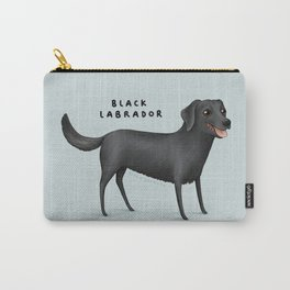 Black Labrador Carry-All Pouch