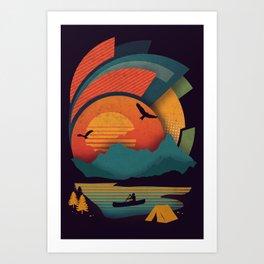 Explore Art Print