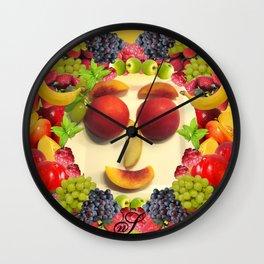Keep Smiling! Wall Clock