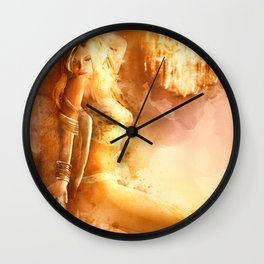 The Night Is Young Wall Clock