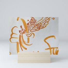 Flight, Liberation. Mini Art Print