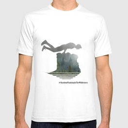 Random Planking in the Wilderness T-shirt