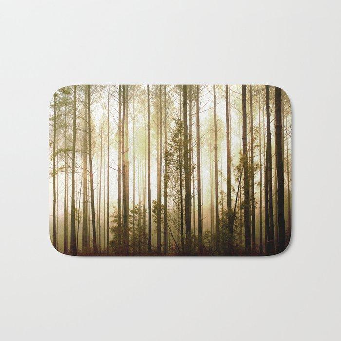 Glowing Forest Bath Mat