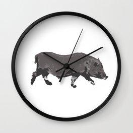 Fat Little Piggy Wall Clock