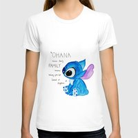 ohana T-shirts featuring Ohana by Nathaly Evans